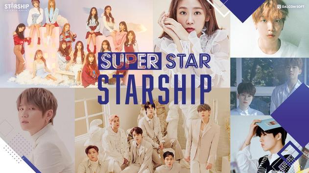 SuperStar STARSHIP Plakat