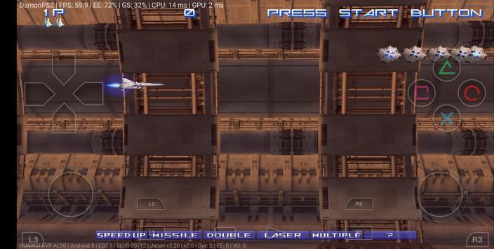 DamonPS2 64bit - PS2 Emulator - PSP PPSSPP PS2 Emu screenshot 2