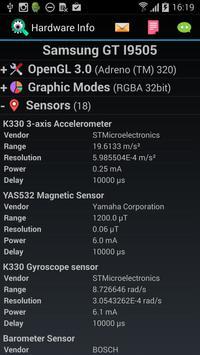 Hardware Info screenshot 1