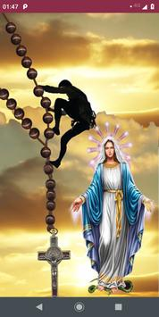 Holy Rosary in english poster