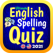 Ultimate English Spelling Quiz : New 2021 Version icône