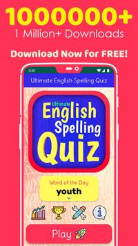 Ultimate English Spelling Quiz : New 2020 Version poster