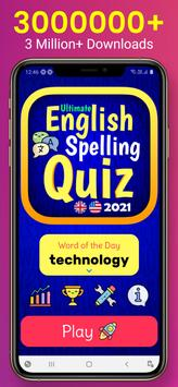 Ultimate English Spelling Quiz : New 2021 Version capture d'écran 11