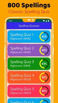 Ultimate English Spelling Quiz : New 2020 Version screenshot 2