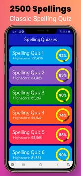 Ultimate English Spelling Quiz : New 2021 Version capture d'écran 2