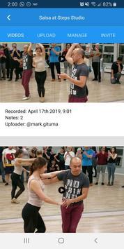 Dancelogue screenshot 1