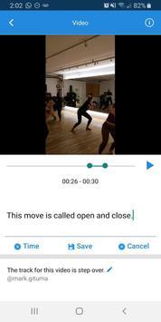 Dancelogue screenshot 2