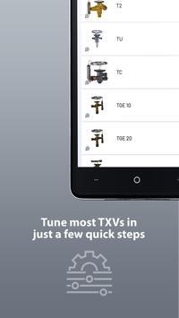 3 Schermata TXV Superheat Tuner