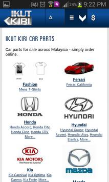 Ikut Kiri Car Parts screenshot 1