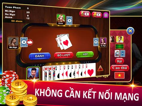 Sam Loc - Sâm Lốc - Tien Len Mien Bac offline ảnh chụp màn hình 8