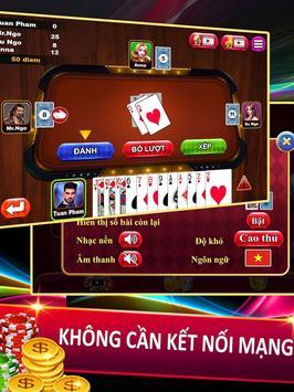 Đánh bài tiến lên miền nam - game tien len offline screenshot 3