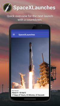 SpaceXLaunches Poster