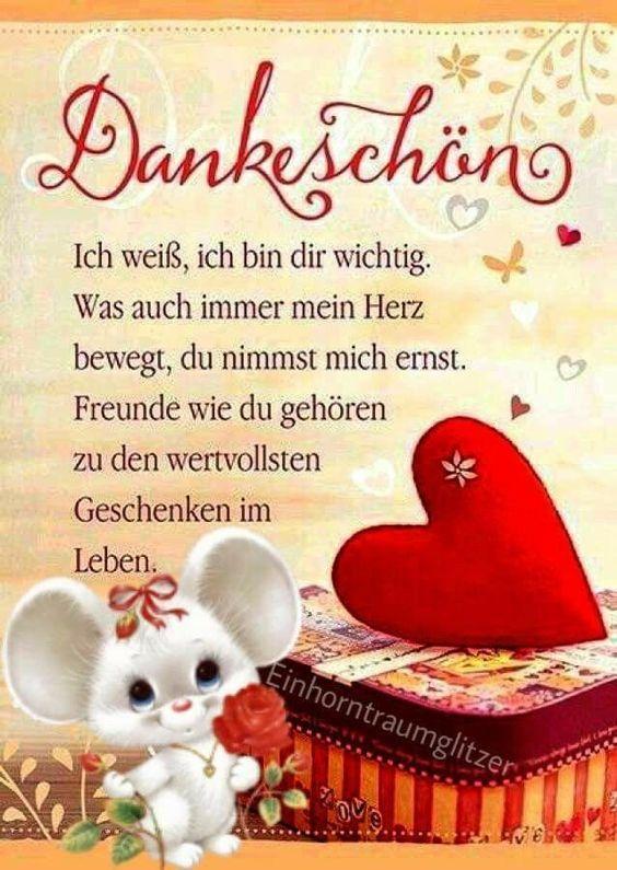 Dankeschön Sprüche Bilder For Android Apk Download