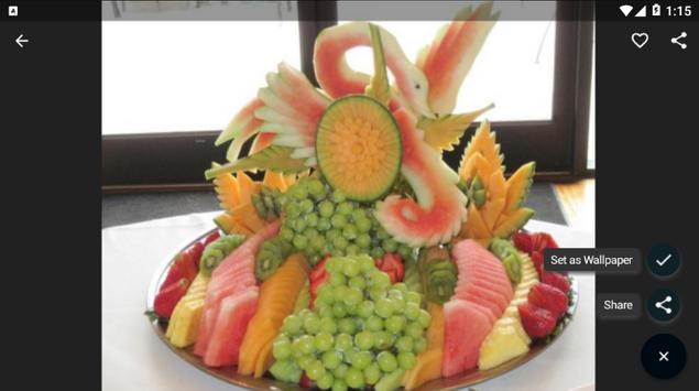 Fruit And Vegetable Carving screenshot 7