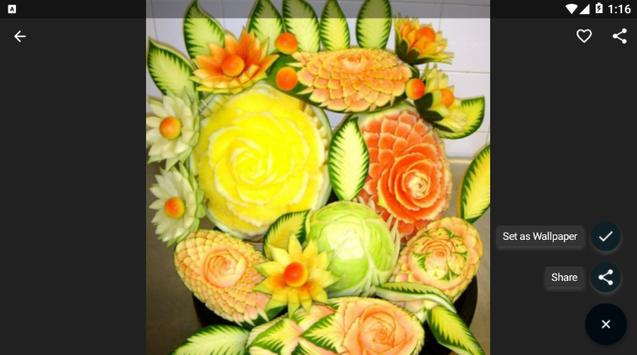 Fruit And Vegetable Carving screenshot 6