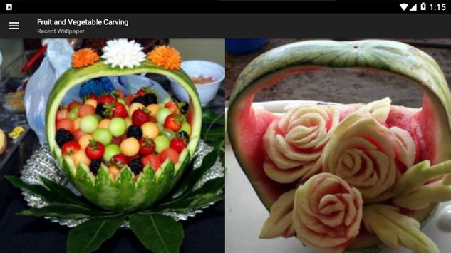 Fruit And Vegetable Carving screenshot 9