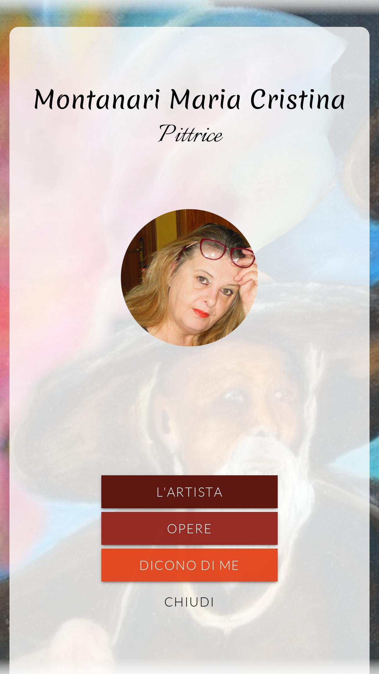 Montanari Maria Cristina poster