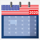 Usa calendar 2020 with holidays APK Android
