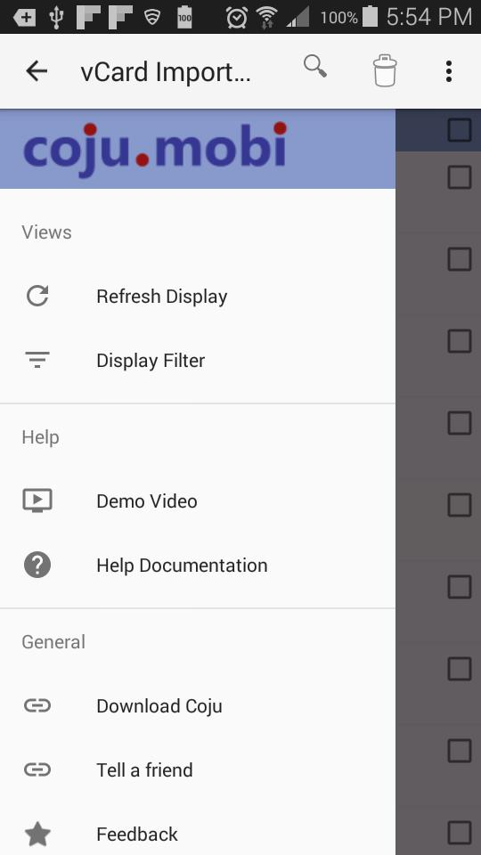 vCard Export Import(Lite) for Android - APK Download