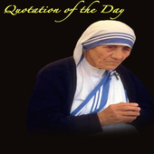 Quotations of Mother Teresa icon