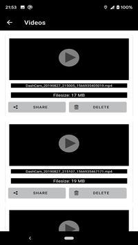 Easy Dashcam screenshot 4