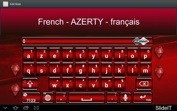 SlideIT French AZERTY Pack poster