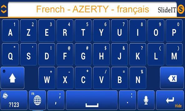 SlideIT French AZERTY Pack screenshot 2
