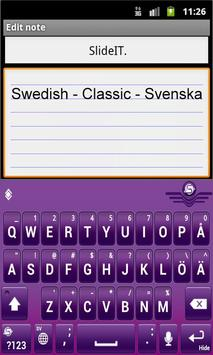 SlideIT Swedish Classic Pack screenshot 1
