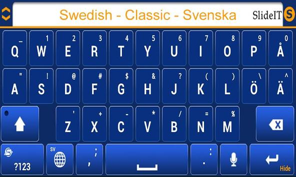 SlideIT Swedish Classic Pack screenshot 2