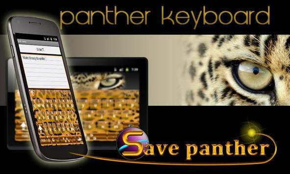 SlideIT Panther Skin poster