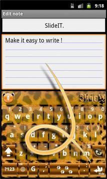 SlideIT Panther Skin screenshot 1