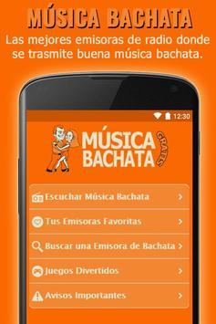 Algunas Emisoras de Música Bachata Gratis poster