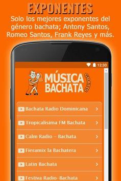 Algunas Emisoras de Música Bachata Gratis screenshot 1