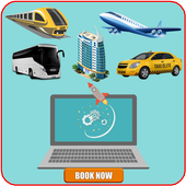 Ticket Booking Online icon