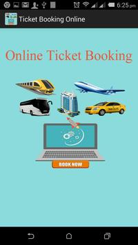 Ticket Booking Online poster