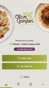 Olive Garden poster