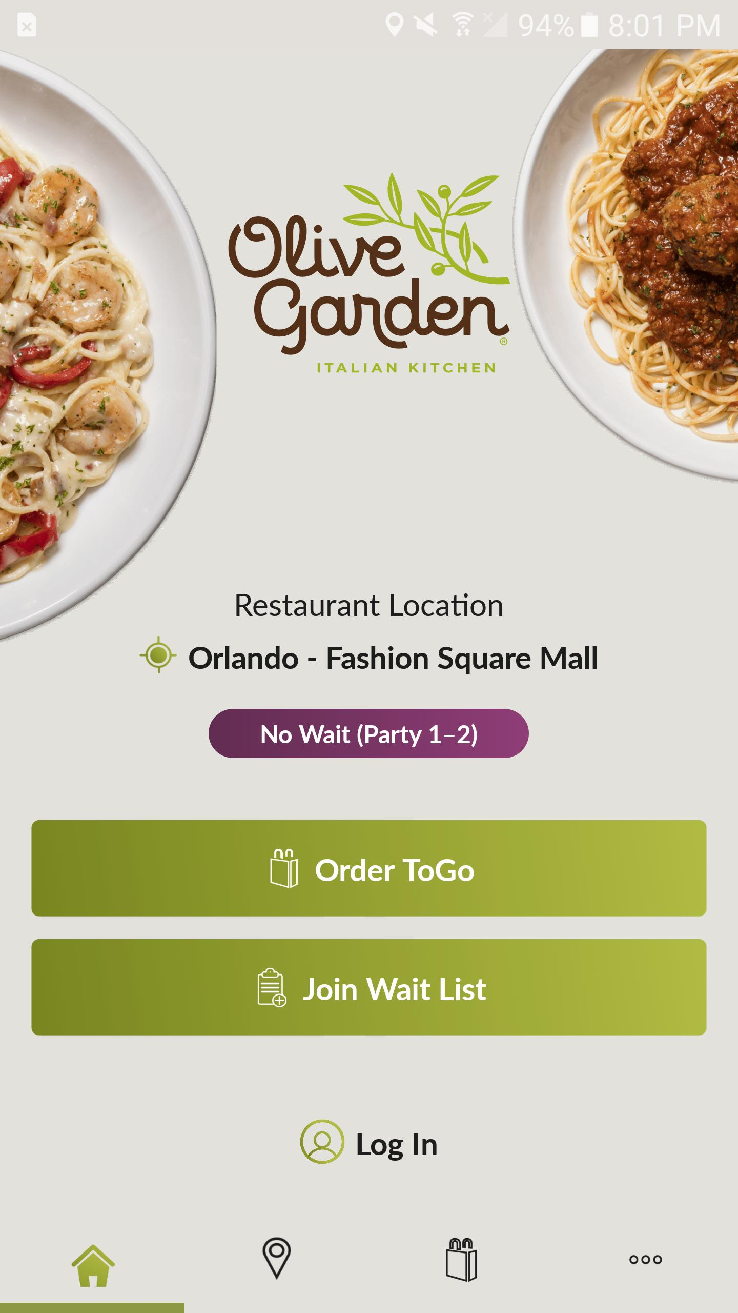 Olive Garden For Android Apk Download