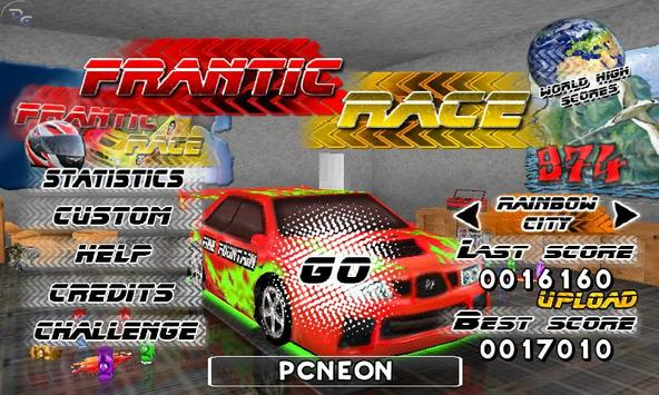Frantic Race Free poster