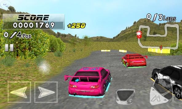 Frantic Race Free screenshot 1