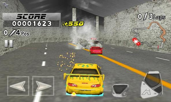 Frantic Race Free screenshot 4