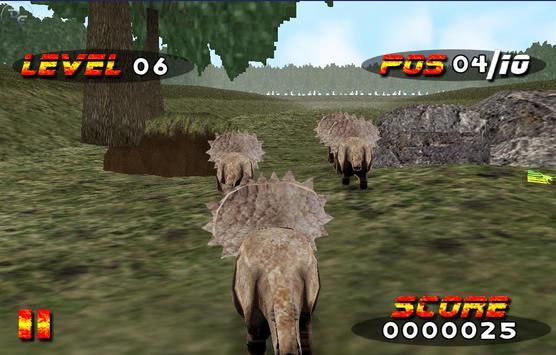 Jurassic Race screenshot 2