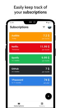 Billey • Subscriptions Manager poster