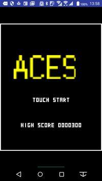 シューティングゲームACES poster