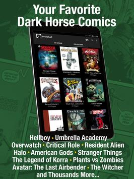 Dark Horse Comics الملصق