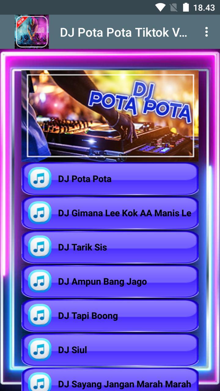 Dj Pota Pota Tiktok Viral Offline For Android Apk Download