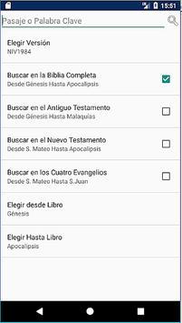 Holy Bible New International Version Spanish screenshot 3