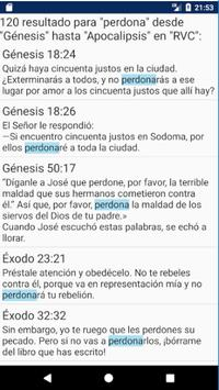 Holy Bible New International Version Spanish screenshot 14
