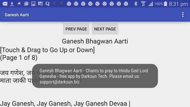 Ganesh Aarti - Hindu Prayer screenshot 8