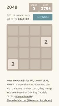 2048 Game - With No Advertisements screenshot 1