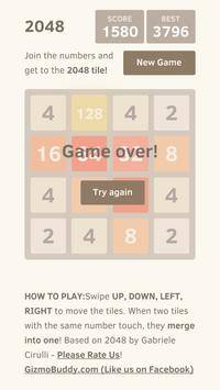 2048 Game - With No Advertisements screenshot 2